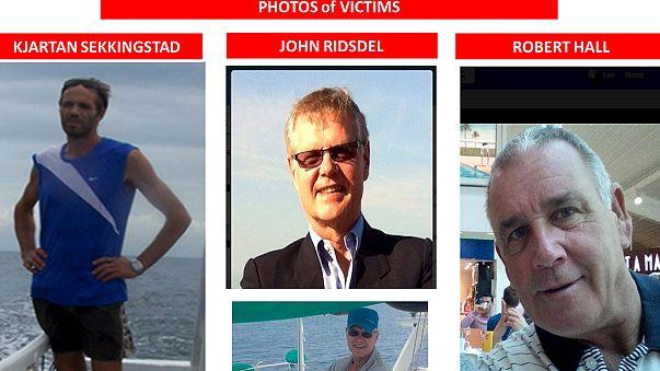 Turistas raptados nas Filipinas
