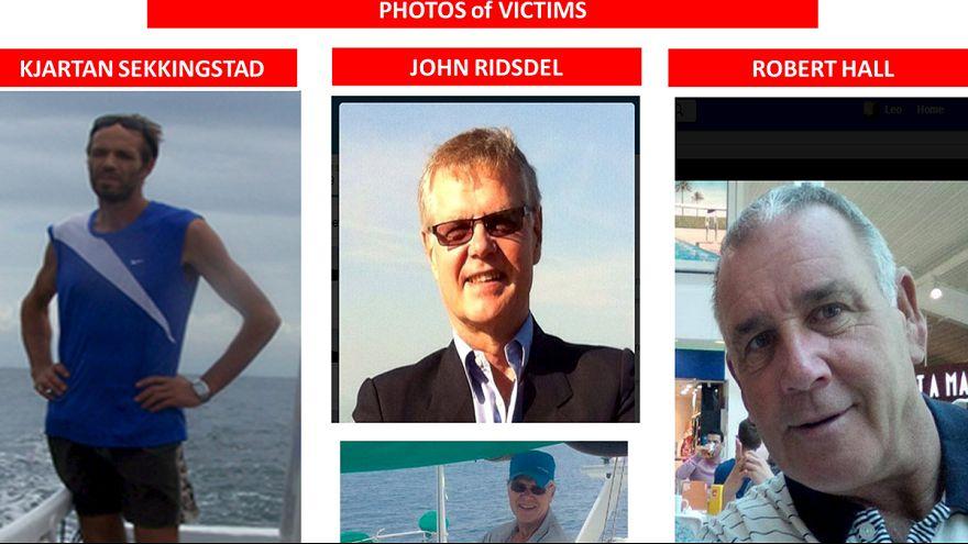 Cuatro secuestrados en un hotel de Filipinas