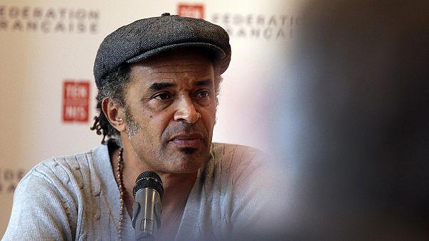 """المغني يانيك نوا قائدا للمنتخب الفرنسي للتنس في """"كأس ديفيز"""""""