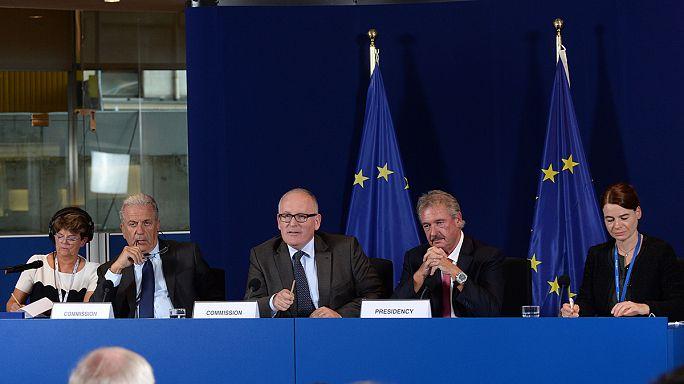 L'UE s'accorde sans unanimité sur la répartition des réfugiés