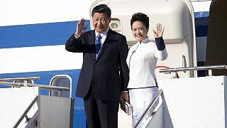 رئیس جمهوری چین در دیداری هفت روزه وارد آمریکا شد