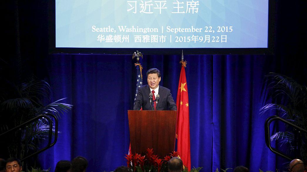 الصين تستعرض قوتها التجارية في الولايات المتحدة