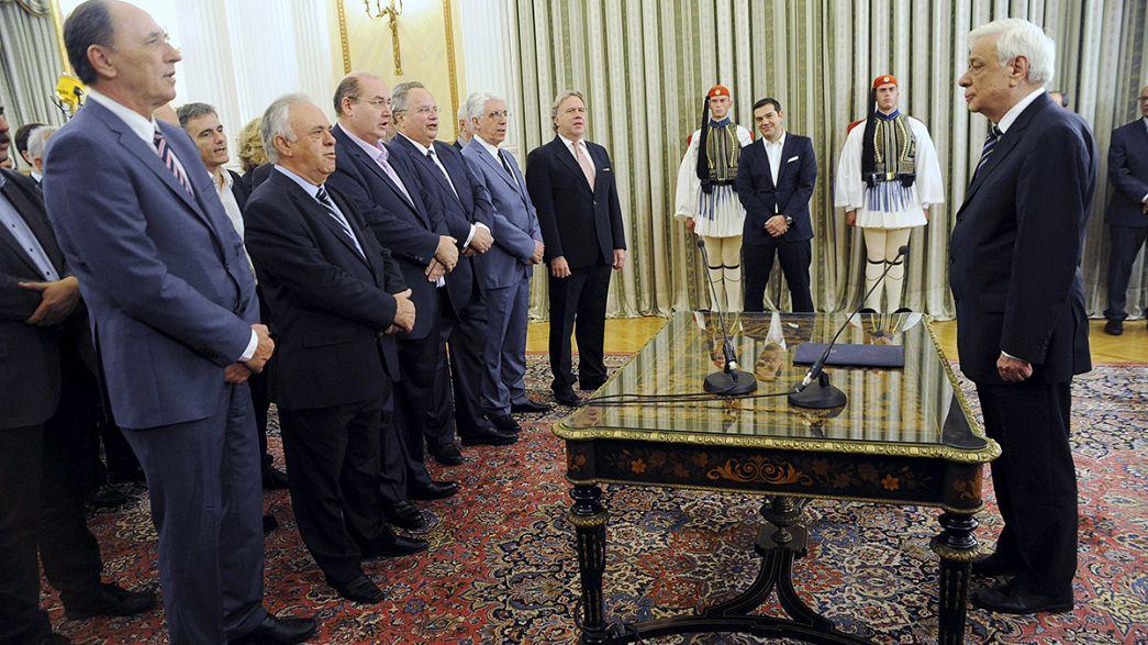 Giura lo Tsipras bis: il nuovo governo subito alla prova delle riforme
