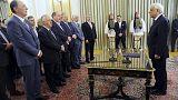 Grécia: Novo governo toma posse