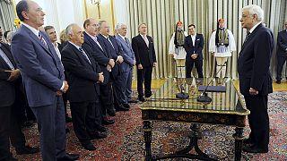 اعضای کابینه جدید دولت ائتلافی یونان سوگند یاد کردند