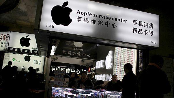 Imitação do novo iPhone à venda na China