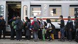 Récord de llegada de refugiados a Croacia en 24 horas