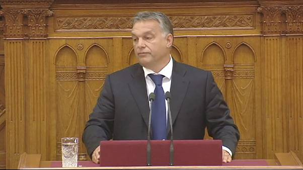 Hungría: el Gobierno de Orbán denuncia la invasión de su país
