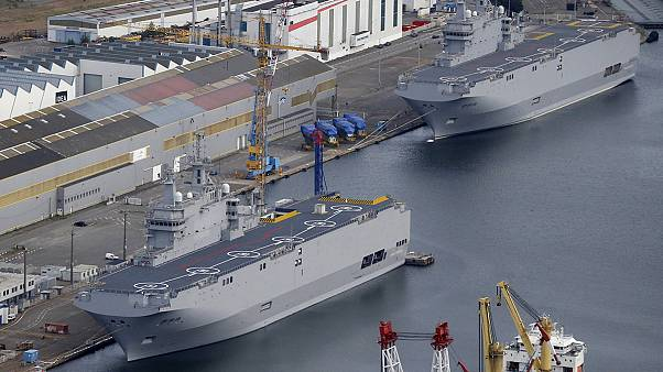 France sells Mistral warships withheld from Russia to Egypt