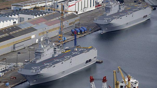 Egyiptom veszi meg az oroszoknak gyártott francia hadihajókat