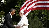 Pope Francis appeals to America to seize an historic moment