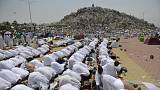 Muslim pilgrims gather at Mount Arafat for Hajj's key moment