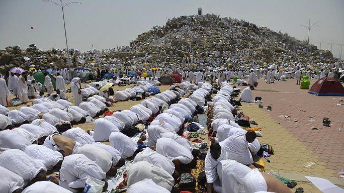Hacı adaylarının dualarında dünya barışı var