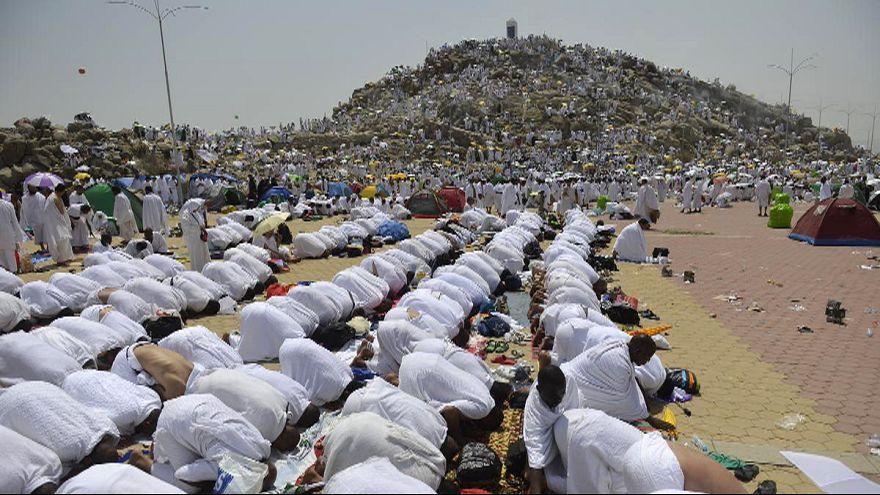Dos millones de peregrinos llegan a la Meca en el momento álgido del Hach