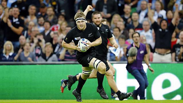 Sam Cane to captain All Blacks for clash with Namibia