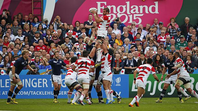 Scotland swamp Japan in Rugby's World Cup with five second-half tries