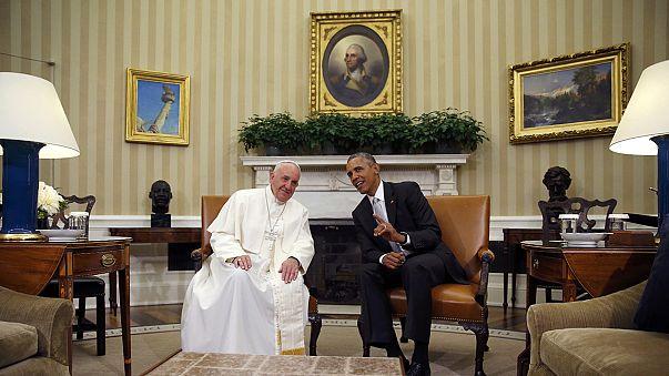 A klímaváltozás állt a pápa és Obama beszélgetésének fókuszában
