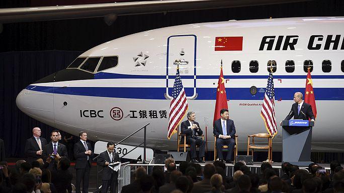 Kína repülőgépeket rendelt, de gyárat is kap a Boeingtől