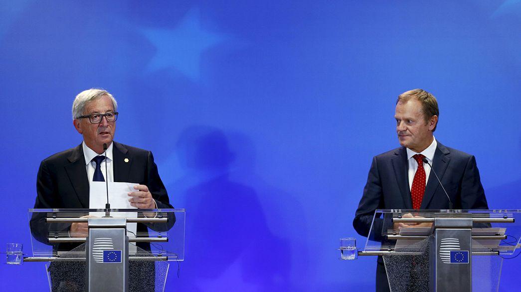 Cumbre de mínimos sobre inmigración en Bruselas