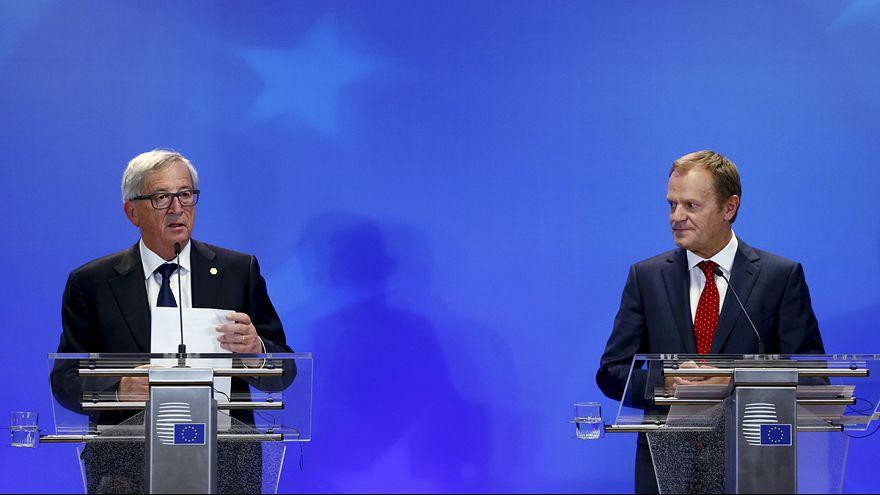 L'UE déterminée à freiner le flux migratoire au lendemain d'un sommet laborieux