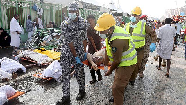 More than 700 pilgrims die in stampede at Hajj near Mecca