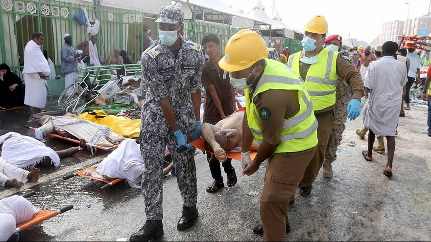 More than 700 pilgrims die in stampede at Hajj near Mecca