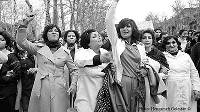Photo exhibit documents women's protest against Iran's hijab law