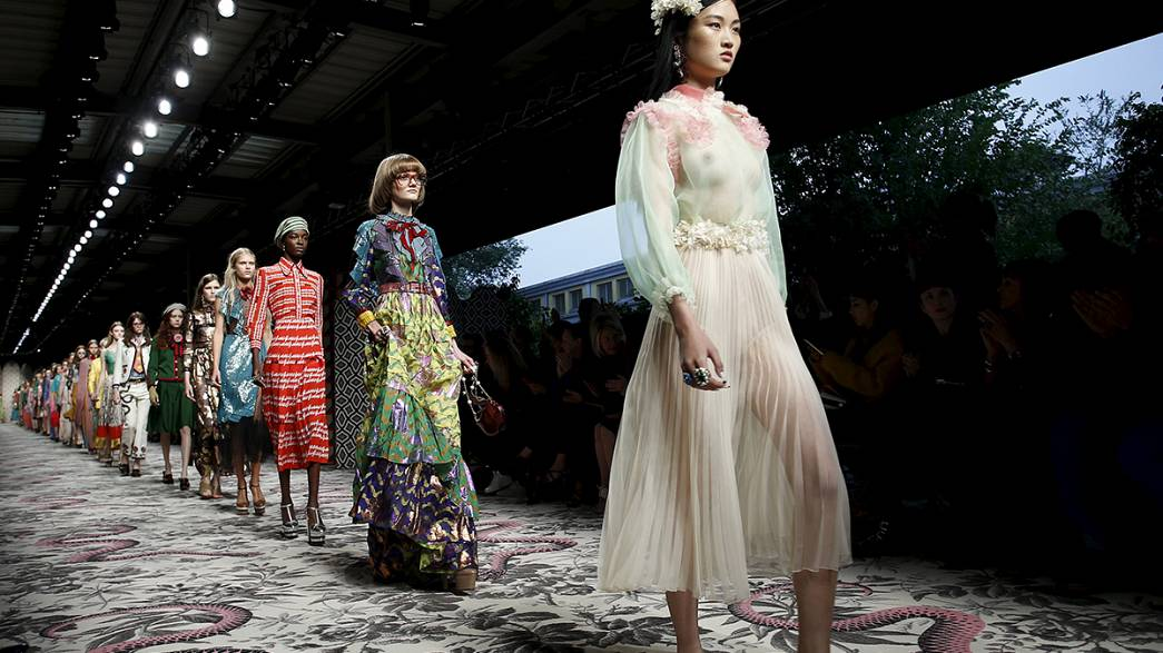 Gucci designer Alessandro Michele leads the Milan fashion pack