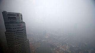 دود مه آلود ناشی از آتش سوزی در اندونزی، مالزی و سنگاپور