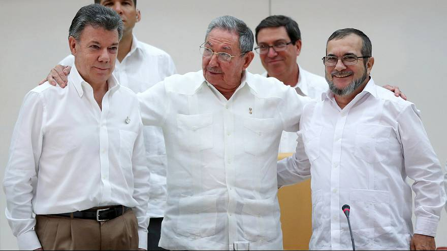 Optimism as Colombia and FARC get to work on peace deal