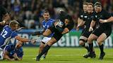 Los All Blacks ganan sin problemas a Namibia por 58-14