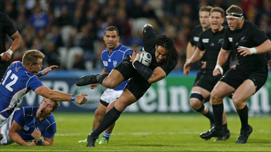 Coupe du monde : les All Blacks s'imposent largement