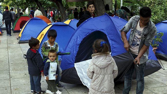 Megváltásra várva egy athéni menekülttáborban