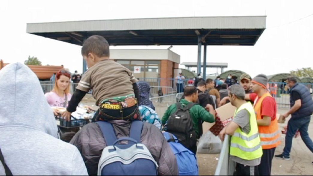 Fluxo de refugiados atiça tensões entre Croácia e Sérvia