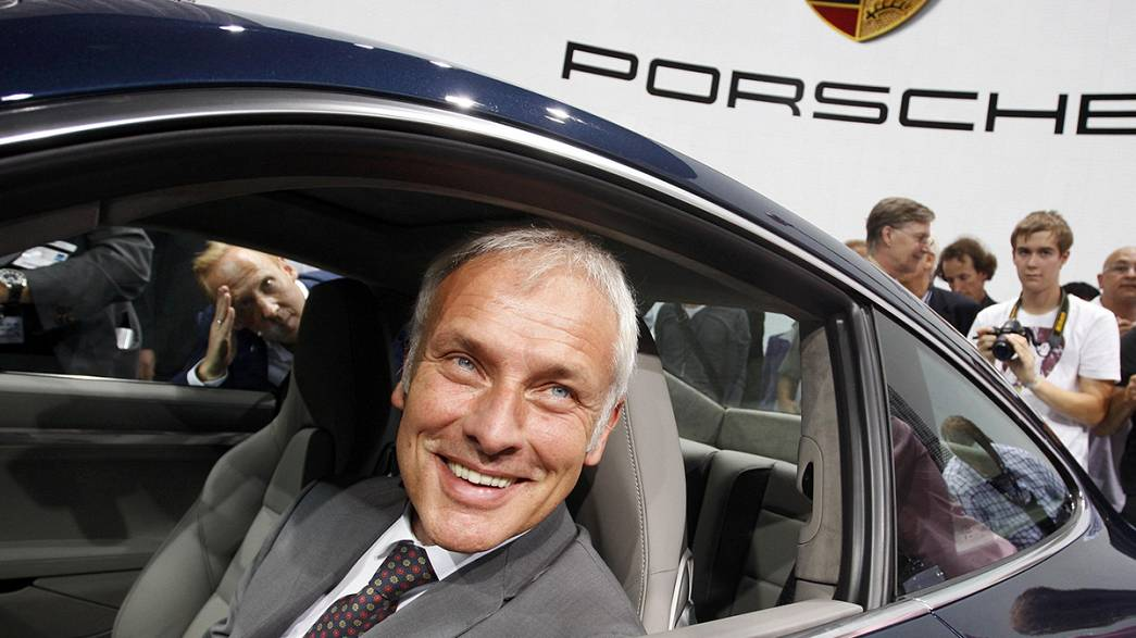 Matthias Mueller expected to be named new Volkswagen CEO