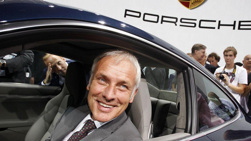 El jefe de Porsche, Matthias Müller, favorito para tomar las riendas de Wolkswagen
