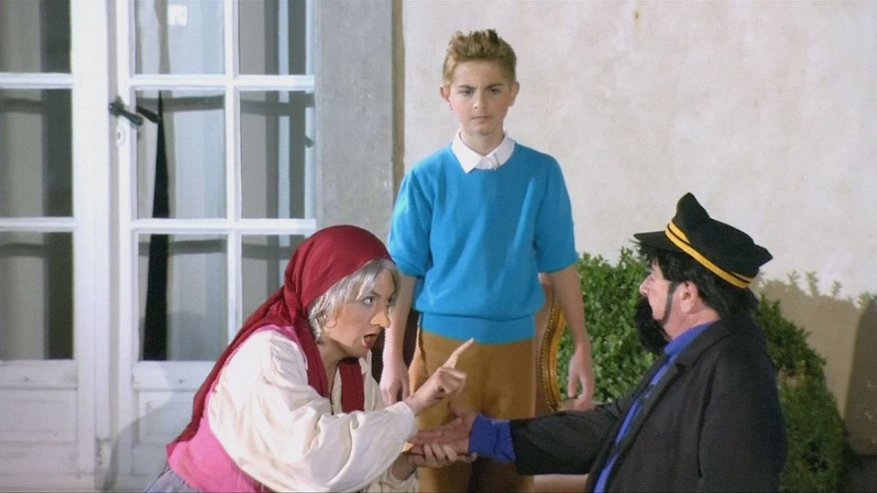 Tintin comes to life in open-air Opera