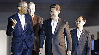 ورود رئیس جمهور چین به واشنگتن