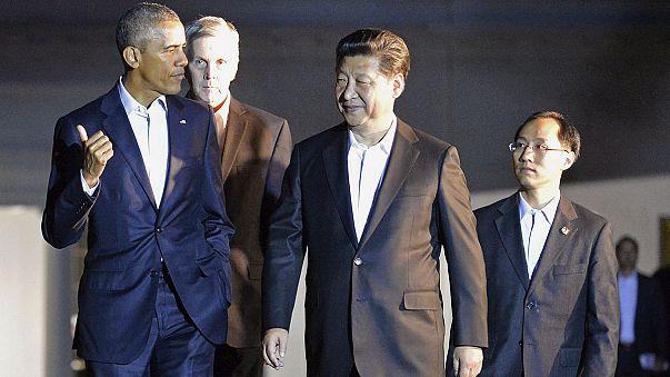 الرئيس الصيني يحل في اشنطن في زيارة رسمية تدوم أسبوعا
