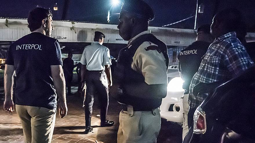 Image: INTERPOL human trafficking arrests