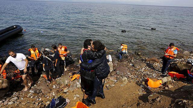 На о.Лесбос прибыло рекордное число мигрантов. ЕС обещает помочь