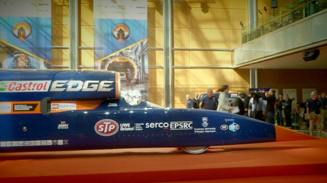 Jaguar desvenda carro supersónico que pode atingir os 1600 km/hora