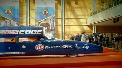 Supersonic car unveiled in London