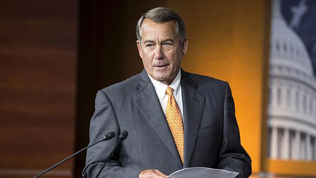 Boehner quits speaker's job and seat in Congress
