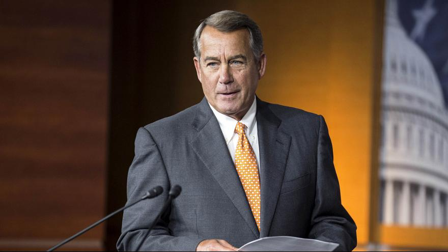 Dimite el presidente de la Cámara de Representantes de EEUU, John Boehner