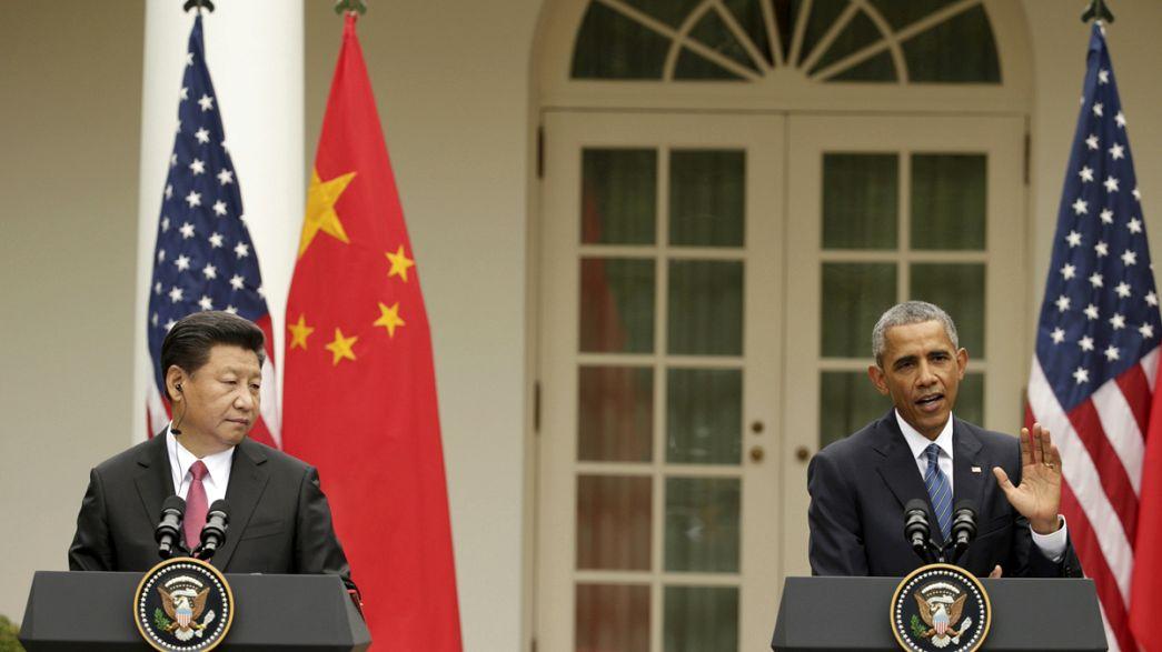 Obama y Jinping enarbolan la bandera de la lucha contra el cambio climático