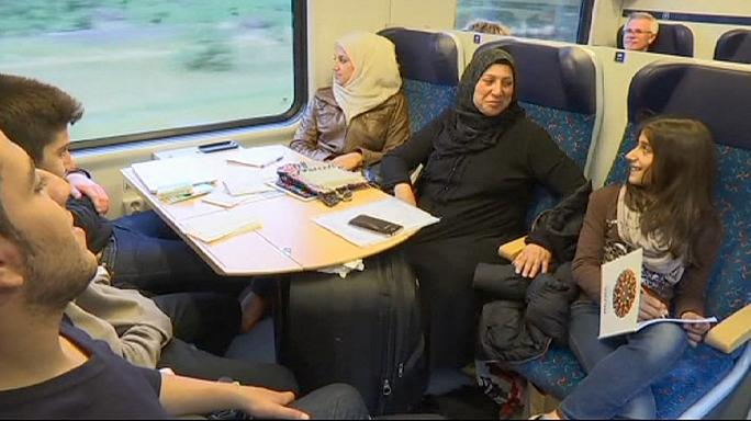 Sığınmacıların Almanya'da yeni bir hayat kurma mücadelesi