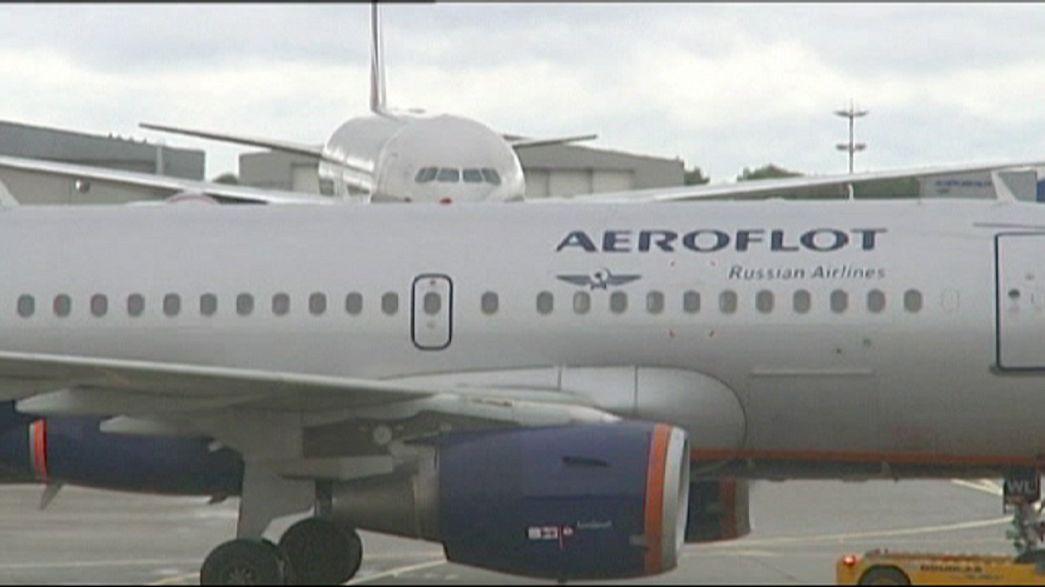 Ukraine: Flugverbot für russische Airlines
