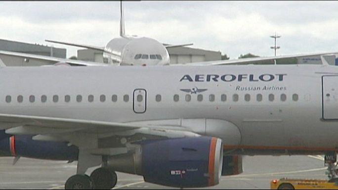 Les compagnies aériennes russes bannies des aéroports ukrainiens