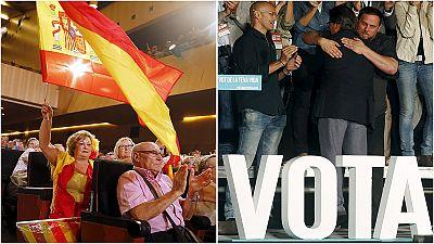 Reta final para o futuro da Catalunha